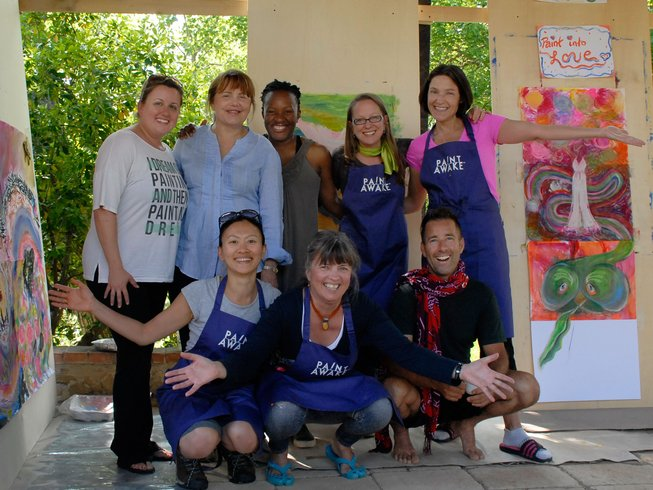 6 Day Intuitive Painting & Yoga Retreat, Tuscany