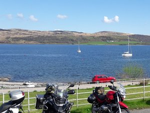 7 Day Scotland West Coast Islands and Highlands Guided Motorcycle Tour in UK