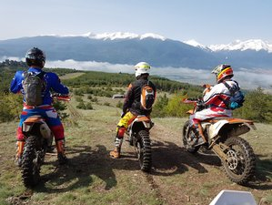 5 Days Bansko Enduro Motorbike Tour in Bulgaria