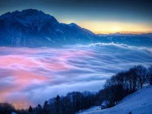 6 Tage Yoga. Wellness. Winterwandern. Ski im 4-Stern Superior Aktivresort, Vorarlberg, Österreich