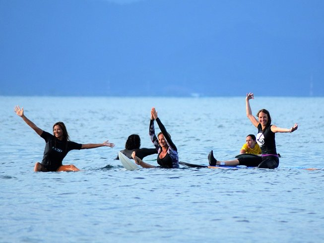 4 Days Surf and Yoga Retreat in Indonesia
