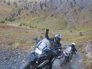 3 Days Adventure Enduro Guided Motorbike Training in Serbia