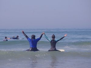 Girls Surf and Yoga Retreat in Morocco