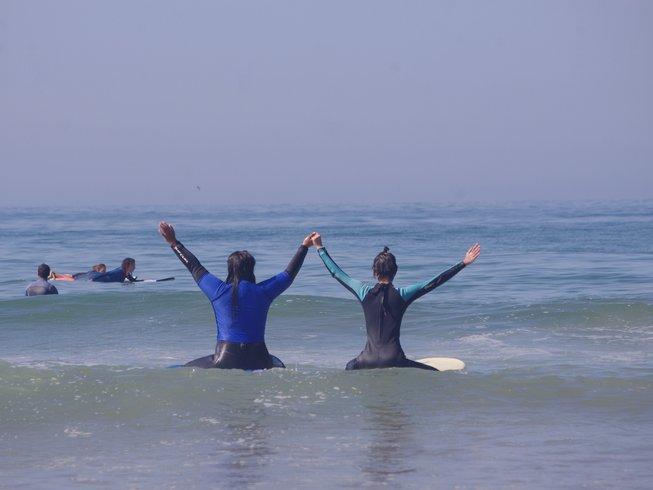 8-Daagse Surf en Yoga Retreat voor Meisjes in Marokko