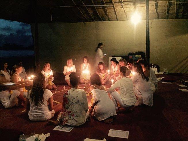 10 días retiro de yoga en Goa, India