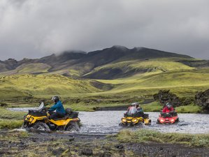 3 Day Guided ATV Adventure Tour in Iceland