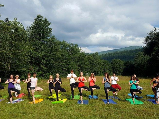 5 Days Inspiring Yoga Retreat in the Carpathian Mountains