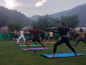 25 días de profesorado de yoga multiestilo de 200 horas en el Himalaya en Rishikesh