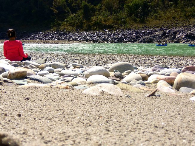 3 Tage Rafting Expedition und Yoga Retreat in Devprayag, Indien