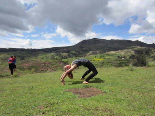 22 Tage 200-Stunden Yogalehrer Ausbildung in Pisac, Peru