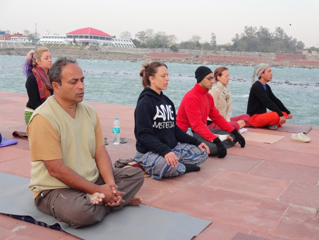 14 Days 100 Hour Yoga Teacher Training Course for Beginners in Rishikesh