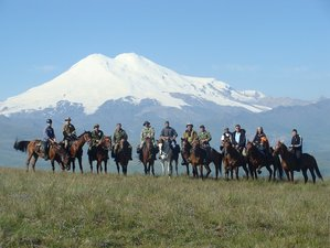 8 Days Magnificent Horse Riding Holiday in Caucasus Area, Russia
