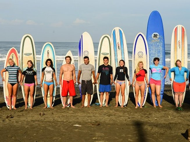 7 Days Namast-acation Surfing and Yoga Retreat in Jaco, Costa Rica