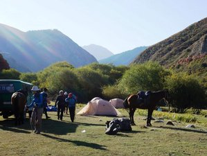 14 Day The Beauty of Tien Shan Horseback Riding Holiday