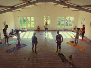 8 jours en séjour de yoga et méditation avec espace de coworking dans la nature en Provence