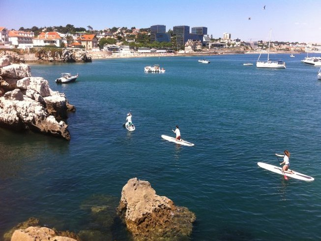8 Days Iyengar Yoga Retreat and Paddle Surf in Colares, Portugal