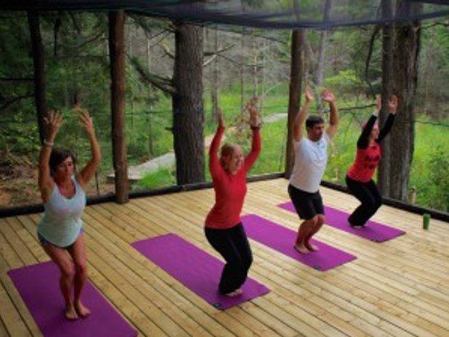3 días retiro de yoga y vino en Ontario
