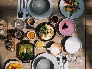 5 Tage Yoga, Meditation, Winterzauber und gehobene vegetarische Küche am Arlberg