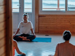 7 jours en retraite de yoga intégral et surf à Imsouane, Maroc