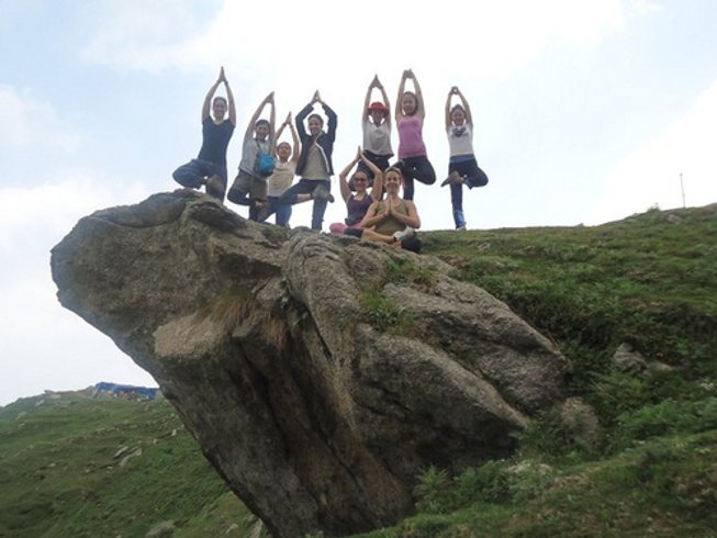 28 Tage 200-Stündige Yogalehrer Ausbildung in Dharamsala