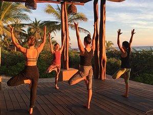 5 Days Beachfront Eco-Luxury Yoga and Wellness Retreat in Mexico