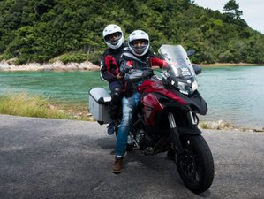 6 Day Taste of the Land of Contradictions Guided Motorcycle Tour in Malaysia
