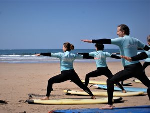 7 Day Yoga and Surf Camp in Ofir Beach, Esposende