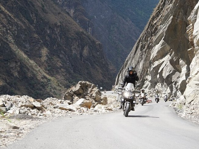 19 Days Cross-Country Motorcycle Tour in Thailand, Laos, China, and Tibet