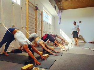 7 Tage Kunst des Vinyasa, Yoga, Meditation, Mantra und Wald am Meer in Ericeira