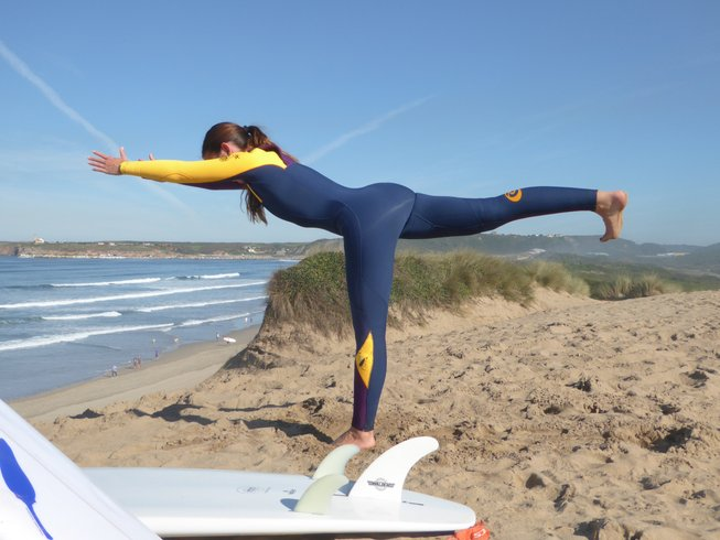 7 días retiro de yoga y surf en Cádiz, España
