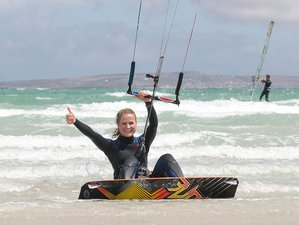 4 Days Private Kitesurfing Holidays in Langebaan, Western Cape, South Africa