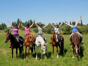 6 Days with a 3-Day Advanced Horse Riding Adventure and Yoga in the Beautiful Algarve, Portugal