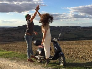 2 Day Guided Vespa Tour in Italy through Val d'Orcia