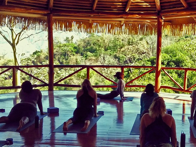 8 Days Detox, Wellness, and Yoga Retreat in San Pablo, Costa Rica