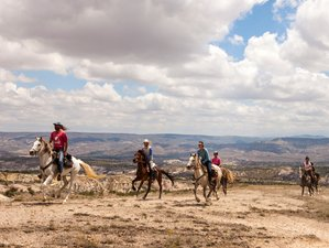 7 Days Comfort Trail Horse Riding Vacation in Cappadocia, Turkey