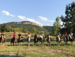8 Day Magic Caves, Waterfalls, and Castles Horse Riding Holiday in the Balkans, Sevlievo