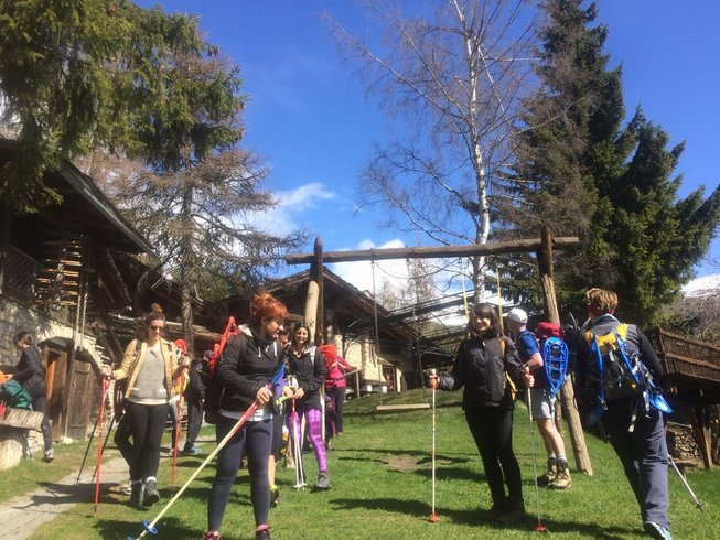 3 Days Fall away to Nourish Yourself Autumn Yoga Retreat in Aosta Valley, Italy