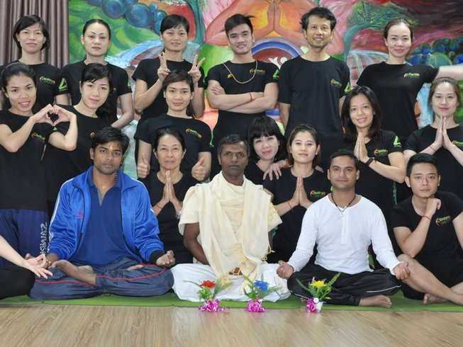 56-Daagse 500-urige Yoga Docentenopleiding in Rishikesh, India