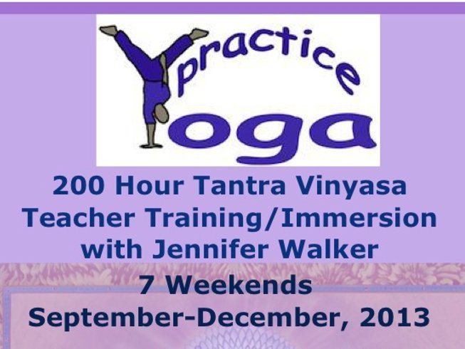 200HR Teacher Training/Immersion