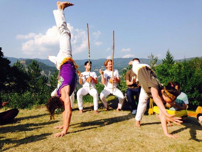 1 Week Capoeira Training Contra-Mestre Piolho & Professor Medusa in Tuscany, Italy