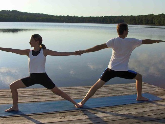 3 días retiro de yoga en Villa Shanti, India