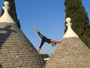 7 Days Power Vinyasa Retreat with Bike and Boat Tour in Italy