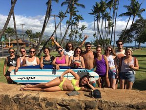 30 Days Multi-Style Surf Camp Hawaii
