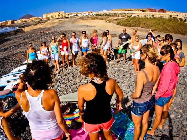 7 Days Surf and Yoga Retreat in Tenerife