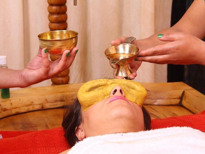 7 Tage Ojashvi Ayurveda und Yoga Urlaub in Rishikesh, Indien