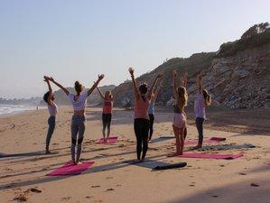 4 jours en week-end de yoga vinyasa et découverte de soi pour femmes à Biarritz, Pays Basque
