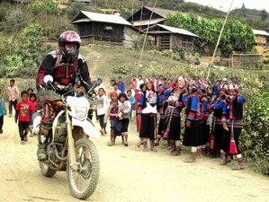 5 Days Off Road Motorcycle Tour in Laos