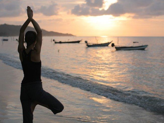 8 días retiro de yoga Ashtanga y pranayama en Ko Samui, Tailandia