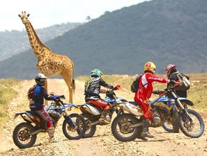 8 Days Guided Off-Road Enduro Motorcycle Tour in Kenya