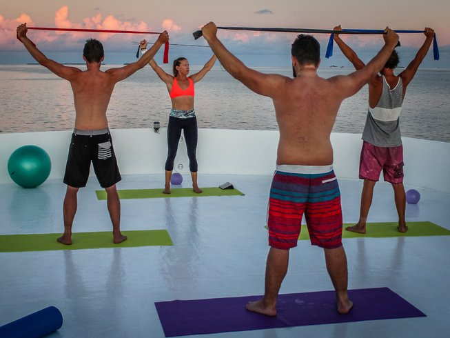 7 Days Surfers Yoga Retreat in Maldives